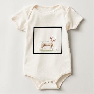 English Bull Terrier Baby Bodysuit