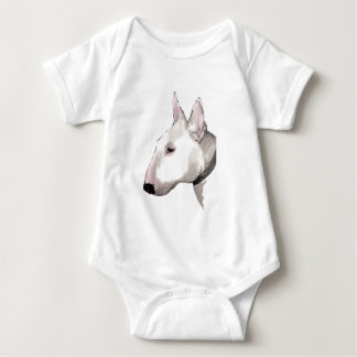 english bull terrier baby t-shirt