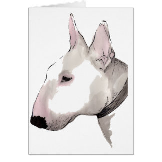 English Bull Terrier Card
