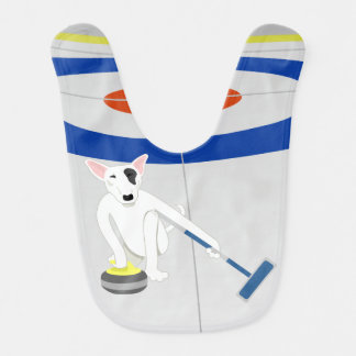 English Bull Terrier Curling Bib