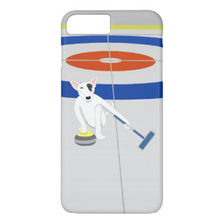 English Bull Terrier Curling iPhone 7 Plus Case