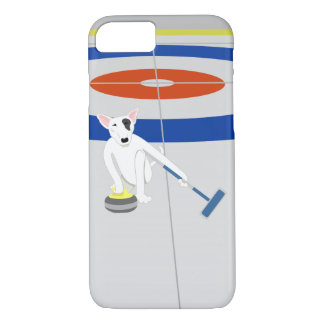 English Bull Terrier Curling iPhone 8/7 Case