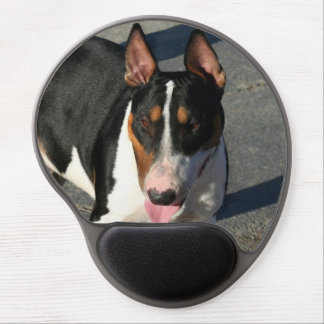 English bull terrier dog gel mouse pad