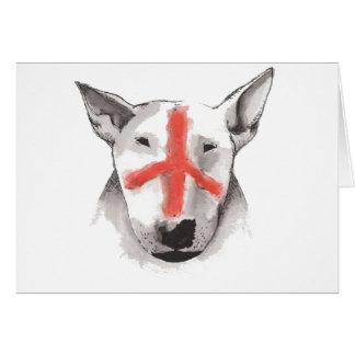 English Bull Terrier England Card