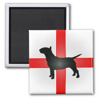 English Bull Terrier Fridge Magnet