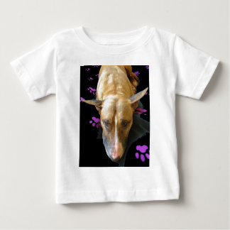 English Bull Terrier Infants Baby Shirts