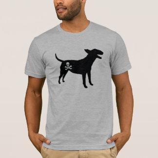 English Bull Terrier / Jolly Roger Pirate Flag Tee