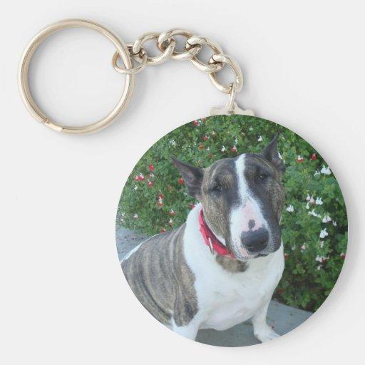 English Bull Terrier Key Chain