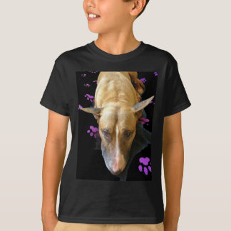 English Bull Terrier Kids Dark T Shirt