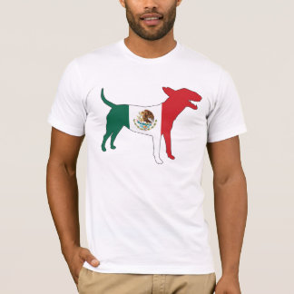 English Bull Terrier / Mexican Flag Tee