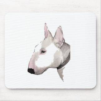 english bull terrier mousemat