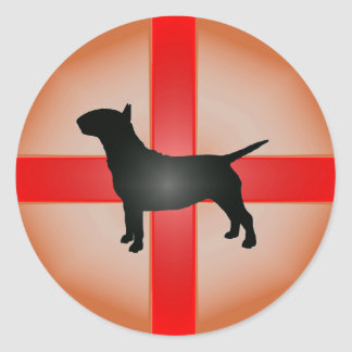 English Bull Terrier Sticker
