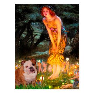 English Bulldog 1 - MidEve Postcard