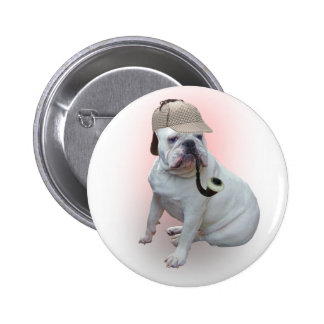 English Bulldog 6 Cm Round Badge