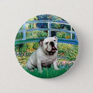 English Bulldog 9 - Bridge 6 Cm Round Badge