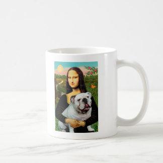 English Bulldog 9 - Mona Lisa Coffee Mug