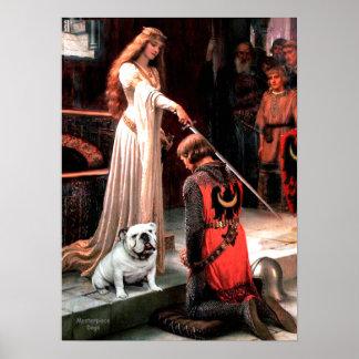 English Bulldog 9 - The Accolade Poster