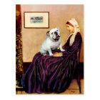 English Bulldog 9 - Whistler's Mother Postcard