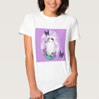 English Bulldog and Butterflies Shirts