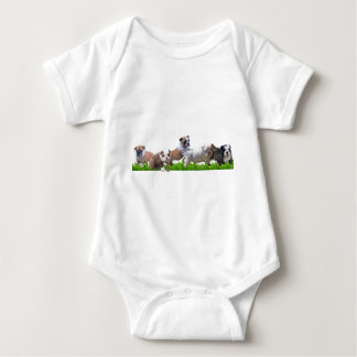 English Bulldog Baby Bodysuit
