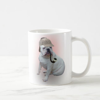 English bulldog basic white mug