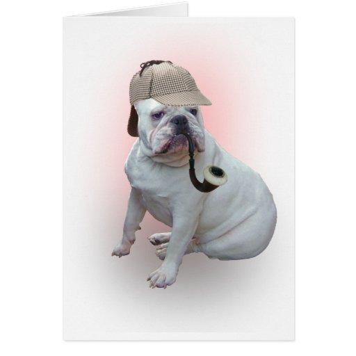 English bulldog cards