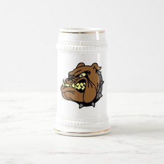 English Bulldog Cartoon Beer Stein