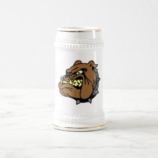 English Bulldog Cartoon Beer Steins