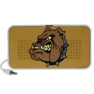 English Bulldog Cartoon iPod Speakers