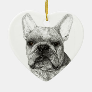 English Bulldog Christmas 2016 Ornament