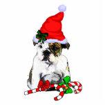 English Bulldog Christmas Gifts Photo Cut Outs