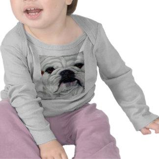 English Bulldog Close and Personal T-shirts