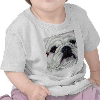 English Bulldog Close and Personal Tee Shirt