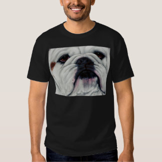 English Bulldog Close and Personal Tees