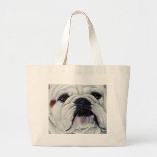 English Bulldog Close and Personal Bags