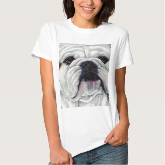 English Bulldog Close and Personal Tshirt