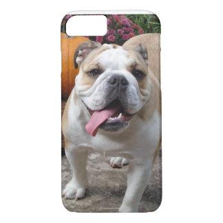 English Bulldog Cute Funny iPhone 7 case covers ca