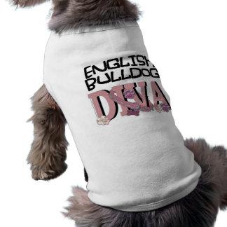 English Bulldog DIVA Shirt