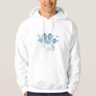 English Bulldog Granddog Hooded Sweatshirt