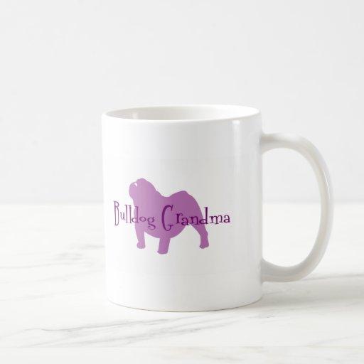 English Bulldog Grandma Mug
