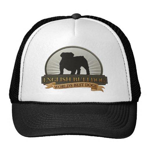 English Bulldog Hats