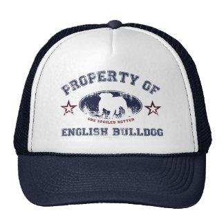English Bulldog Mesh Hats