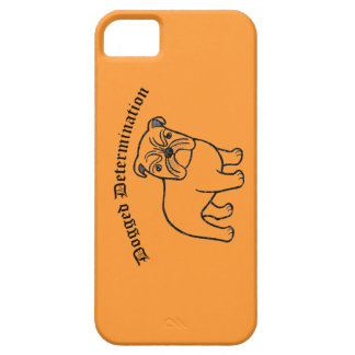 English Bulldog Inspirational quote iPhone Case iPhone 5 Cases