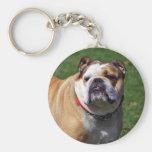English bulldog keychain, gift idea