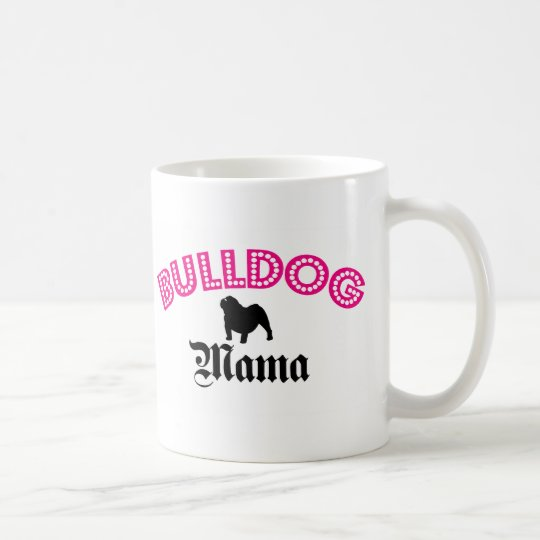 English Bulldog Mama Coffee Mug