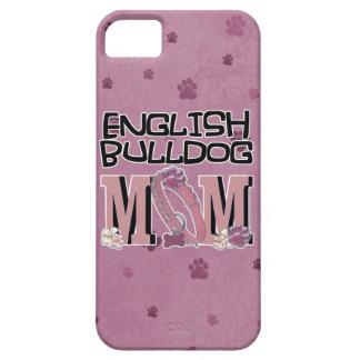 English Bulldog MOM iPhone 5 Cases