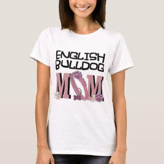 English Bulldog MOM T-Shirt