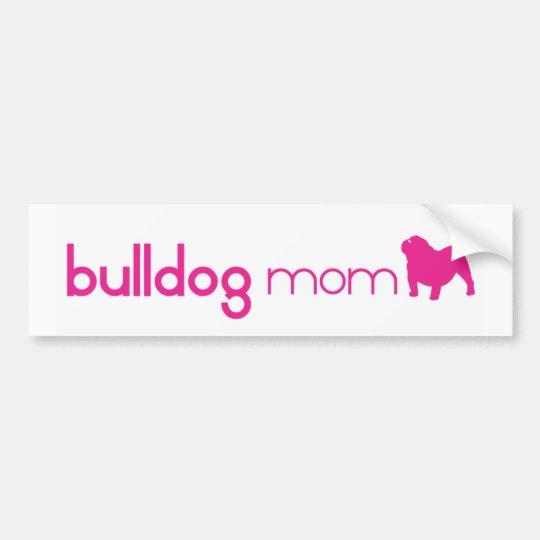 English Bulldog Mum Bumper Sticker