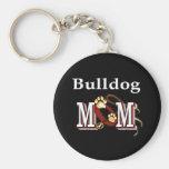 English bulldog mum Keychain