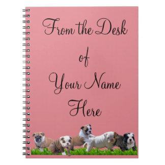 English Bulldog Notebooks